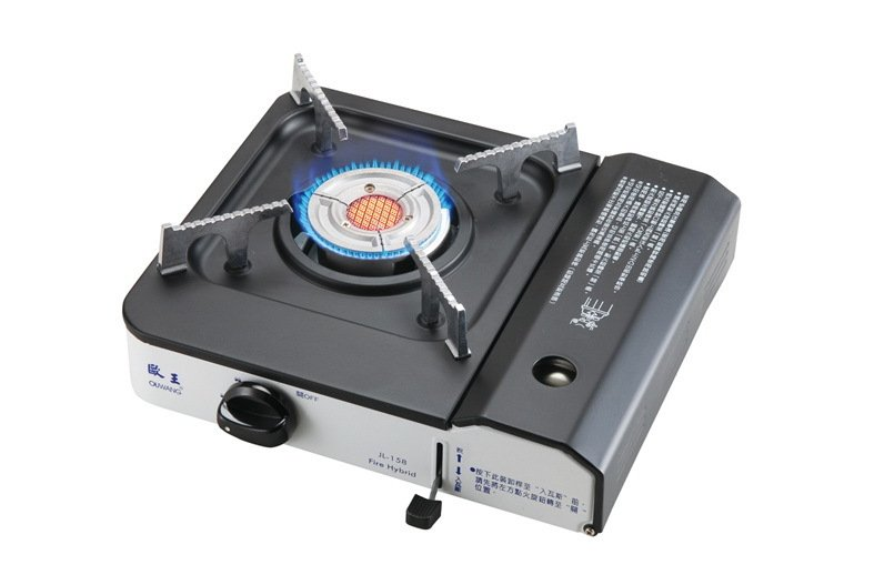 Far Infrared Fire Hybrid Gas Stove JL-158